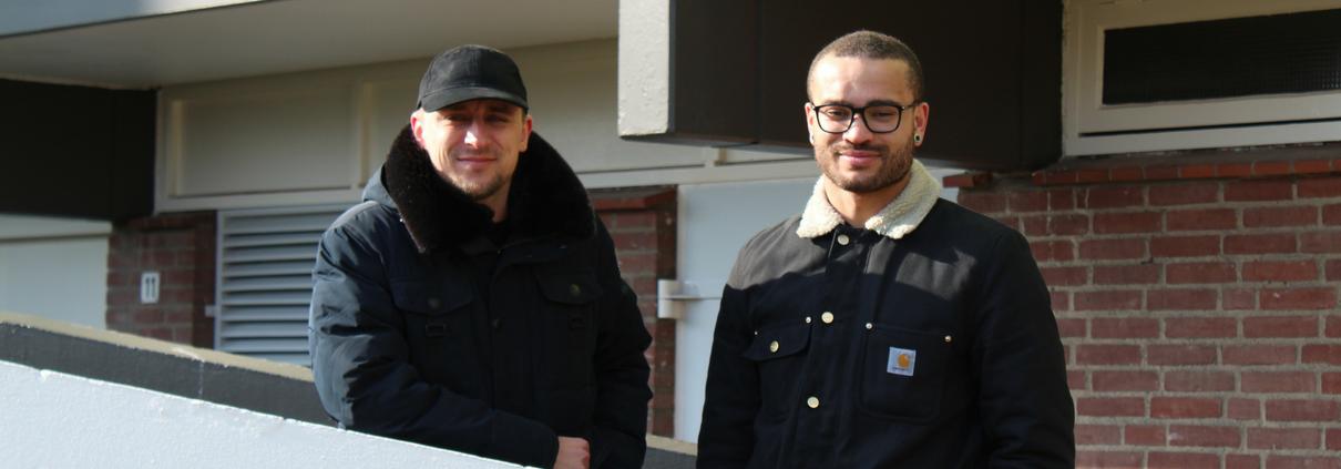 Jamie en Jeroen zijn coaches bij Get started breda